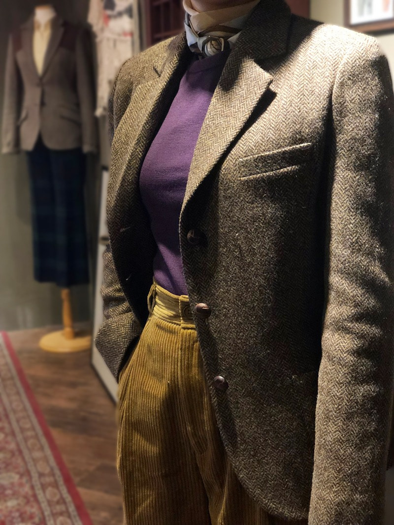 Wool Tweed Hunting Jacket